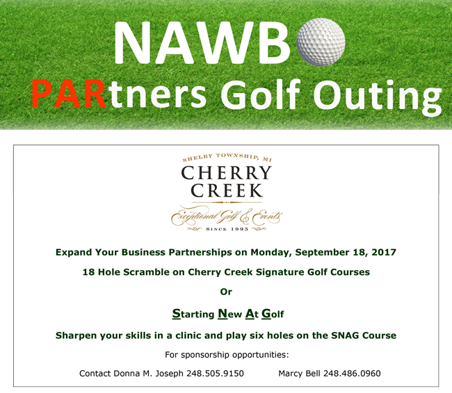 NAWBO PARtners golf outing