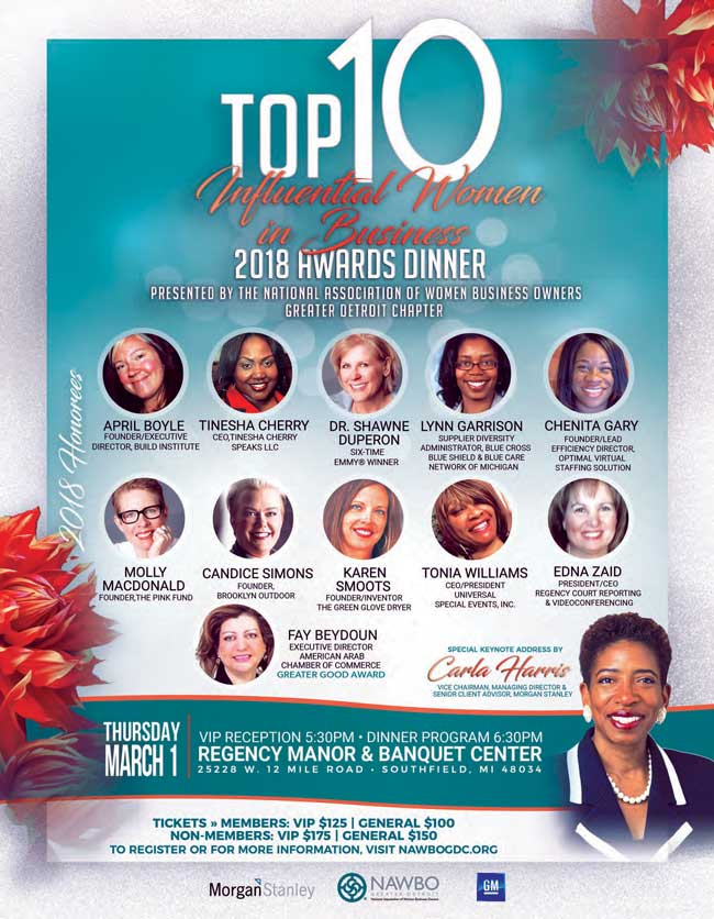 Top 10 Honorees