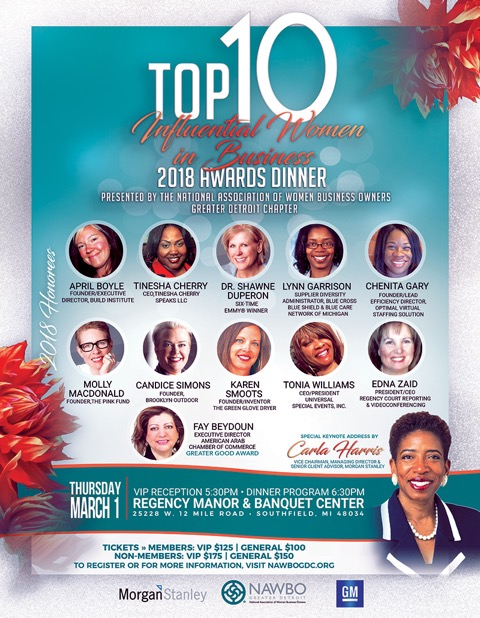 top 10 event with honorees
